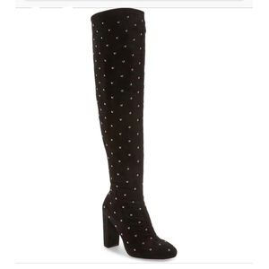 Jessica Simpson Studded Suede Knee Boot Size 11